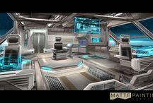 Interior Decor: Spaceships