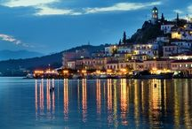 Poros / The Greek Island of Poros.