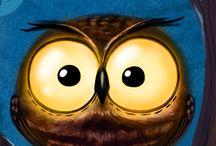 owls / by Stephanie Hogle