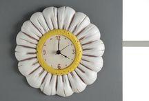 CERAMICA - orologi difusori profumo e altri piccoli oggetti  in ceramica