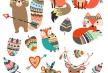 Cute Stickers! / A collection of all the cute stickers I could find!