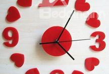 Wall Clocks / Beddinginn owns all kinds of wall clocks and other home decors. You will find everything you need for your house decorations. / by bedding inn