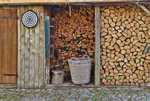 Firewood Shed Designs and Ideas / Think of convenience in bringing wood from the shed into the house. The location in bringing the woods in and the path you will have to take. Have a sturdy woodshed that will keep firewood stacked, dry and ready for use.  Here are some ideas of woodshed. This designs will help you decide the firewood shed you need.