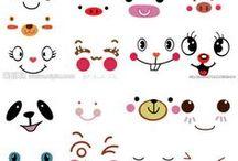 Eyes & mouths