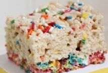 It's my birthday and I'll eat all I want to. / Birthday cake flavored items