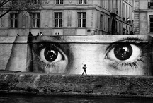 the ART....on the streets....