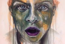 My work / egne malerier / Malerier / paintings