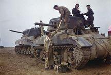"""WW2 - RAM / Ram(zang.""""taran"""") –kanadyjskiczołg pościgowyz okresuII wojny światowejbazowany naamerykańskimczołguśrednimM3 Lee. Nazwa czołgu """"RAM"""" pochodziła od nazwy miejscowości, gdzie urodził się dowódca kanadyjskich sił pancernych generał porucznik Worthington."""
