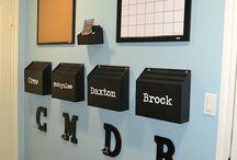 organization ideas / by Tammy Flicker