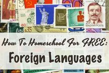 Foreign Languages / Resources for teaching foreign languages in your homeschool.  Spanish, sign language, and latin.