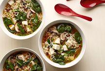 Tofu soups