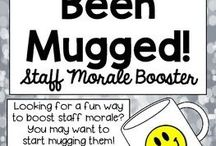Staff moral boosters
