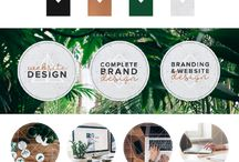 Beautiful Branding Style Boards / Branding Style Board, Branding Board, Brand Board, Brand Design, Branding Design, Logos, Logo Design, Small Business Owners, Creative Design, Creative Entrepreneur, Typography, Patterns, Textures, Design Inspiration, Logo Design Inspiration, Brand Design Inspiration, Logos for Bloggers, Logos for Photographers