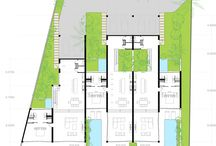 plans [multi-family] / floor plans of multi-family residential - includes townhouses, apartments and hotels
