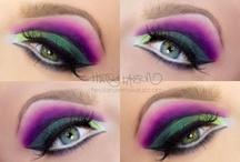 Makeup by Heidi Larsen / Makeup done by me. More info on my blog: http://heidilarsenmakeup.com