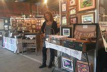 Art Fairs / Art Fair, Craft Fair, booth set-up