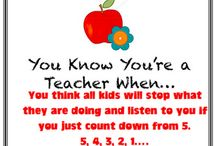 Funny and Inspirational Teaching Quotes