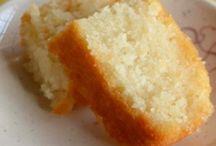 Sponge cakes etc.