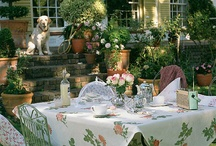 *Everyday Garden: Dining Alfresco / Food simply tastes better when enjoyed outside! / by The Everyday Home