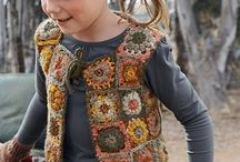 kid crochet and knitwear