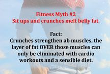 Fitness Myths / Don't let these fitness myths stop you from reaching your health and fitness goals.