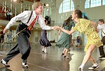 Swing dance style and 20s-50s inspiration