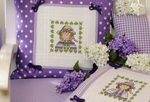 Cross Stitch - For Pillows