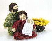 Crochet Nativity patterns