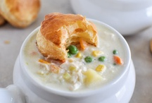 Food-Soups / by Courtney Selman