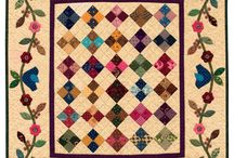 Quilt projects with Applique