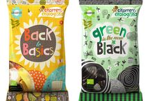 Branding (Snacks - Sweet) / Snacks Branding (Focus on Packaging Design) (Sweet Snacks: Candy, etc.) • Pinterest.com/ScottMonaco • More at: QuietYell.com