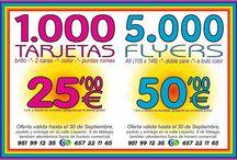 5.000 FLYERS 50,00 €