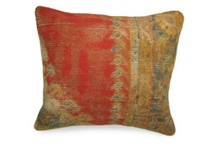 Pillows, Antique & Vintage / Beautiful  pillows we make from one of a kind antique and vintage rugs!  / by J & D Antique & Vintage Rugs