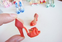 chaussures  fimo