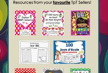 100e Jour d'École / 100th day of school, teaching resources in French