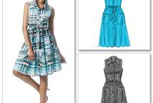 Spring Dresses and Fabrics