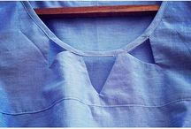 Cutout necklines