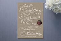 DE - wedding invitations