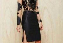 I love the black dress!!! / The black dress!!!