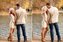 Engagement photo ideas / by Jennifer Kay