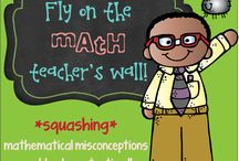 """Fly on the Math Teacher's Wall! / This board is dedicated to the bi-monthly math blog hop """"Fly on the Math Teacher's Wall""""!  A group of math educators has come together to help SQUASH misconceptions held by teachers and students in very common, popular topics.  Math Educators cover elementary, upper elementary, middle and high school perspectives!"""