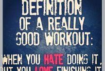 My workout plans & ideas!