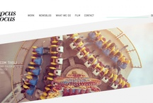 Website Design / Inspirational website designs