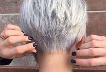 Blond short hairstyles