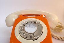 Orange Phones & Cameras