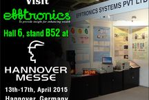 Updates and Events / Efftronics Systems Pvt. Ltd. is participating in Hannover Messe 2015 at Hannover,Germany.