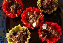 Amazing Appetizers / These are exceptional appetizers. Great for putting on a perfect party.