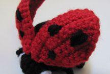 Ladybug ladybirds coccinelle / Patterns and idea to make ladybug ladybird