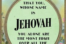 Jehovah, let your name be sanctified
