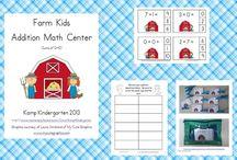 On the Farm / Farm Ideas for a Kindergarten or 1st Grade Classroom